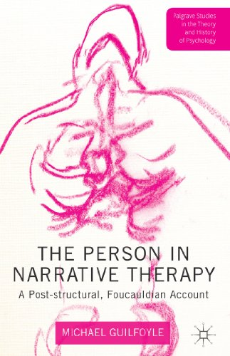Person in Narrative Therapy A Post-Structural, Foucauldian Account  2014 edition cover
