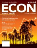 Econ Microeconomics + Coursemate Printed Access Card:   2014 9781285423548 Front Cover