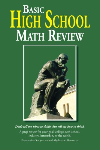 Basic High School Math Review   2013 9781483605548 Front Cover