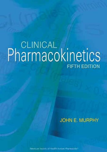 Clinical Pharmacokinetics  5th 2012 edition cover
