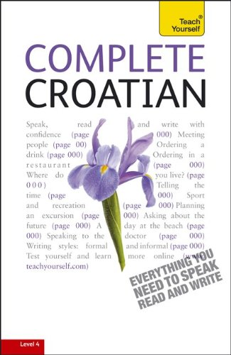 Complete Croatian  2nd 2011 edition cover