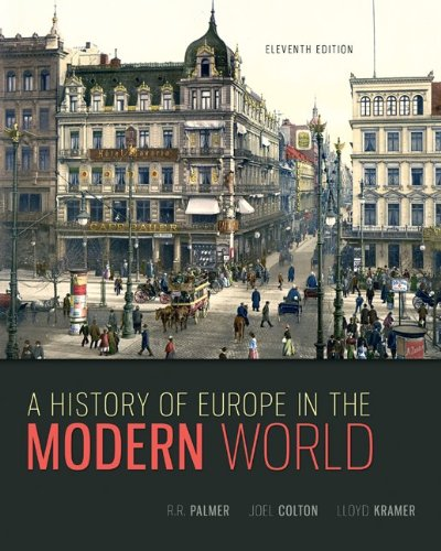A History of Europe in the Modern World: 11th 2013 edition cover
