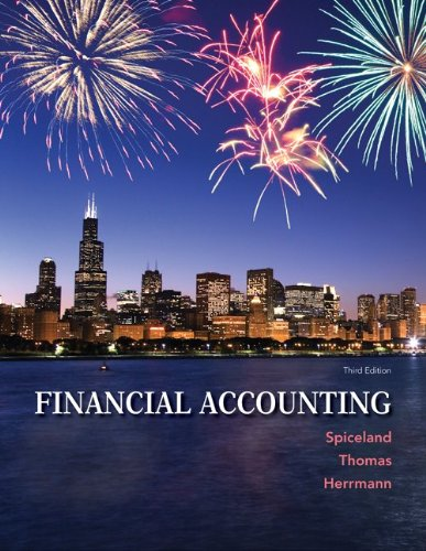 Financial Accounting  3rd 2014 9780078025549 Front Cover