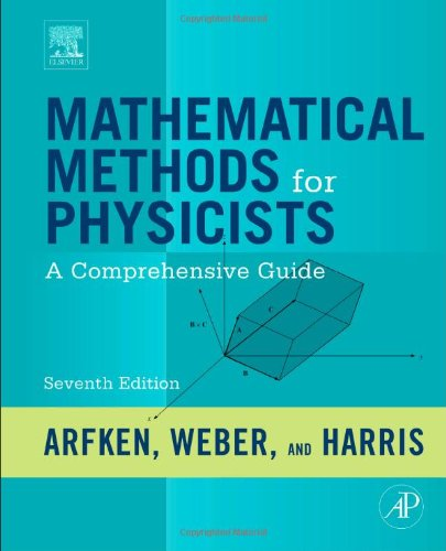 Mathematical Methods for Physicists A Comprehensive Guide 7th 2012 edition cover