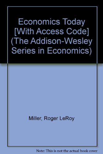 Economics Today plus MyEconLab Student Access Kit 15th 2010 edition cover