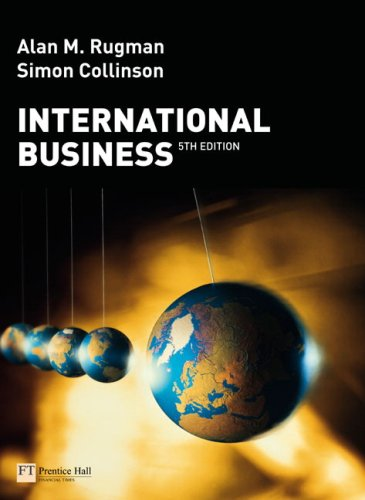 International Business  5th 2009 edition cover