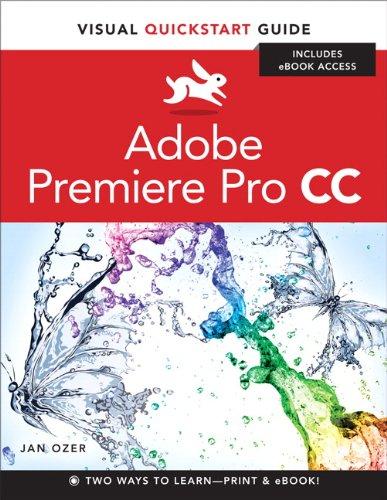 Premiere Pro CC Visual QuickStart Guide  2013 edition cover