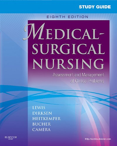 Study Guide for Medical-Surgical Nursing Assessment and Management of Clinical Problems 8th 2010 edition cover