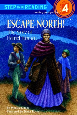Escape North! The Story of Harriet Tubman  2000 edition cover