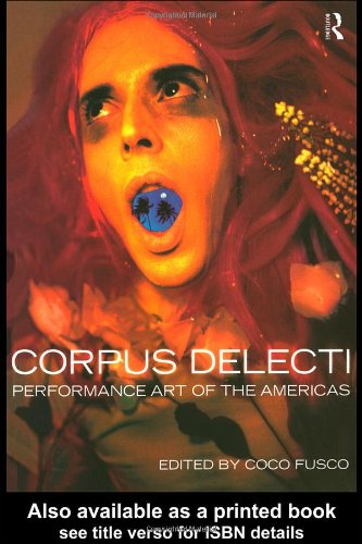 Corpus Delecti Performance Art of the Americas  1999 edition cover