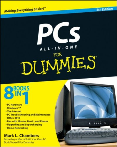 PCs All-In-One for Dummies  5th 2010 edition cover