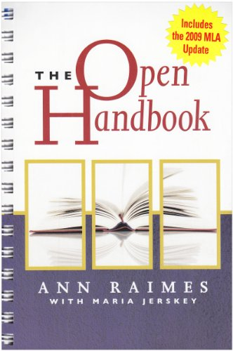Open Handbook Keys for Writers  2007 edition cover