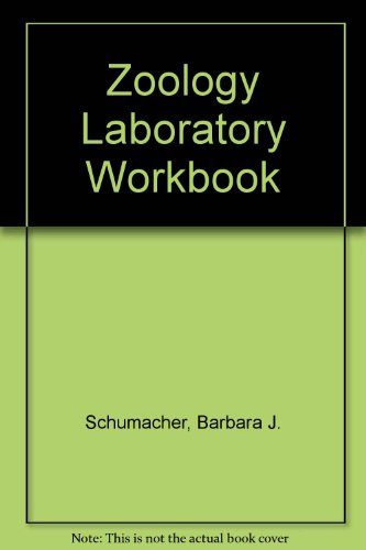 Zoology Laboratory Workbook  9th 2003 (Revised) 9780757504549 Front Cover