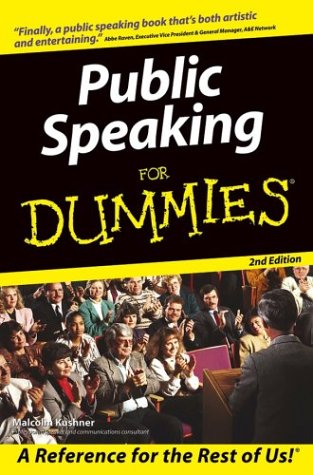 Public Speaking for Dummies  2nd 2004 (Revised) edition cover