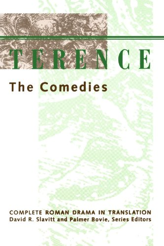 Terence The Comedies  1992 (Reprint) edition cover