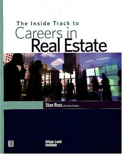 Inside Track to Careers in Real Estate   2006 edition cover