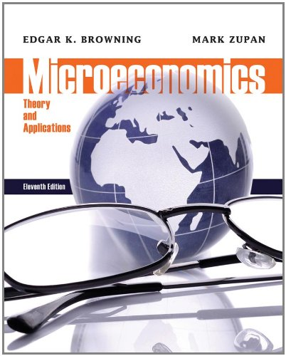 Microeconomics Theory and Applications 11th 2012 edition cover