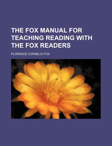 Fox Manual for Teaching Reading with the Fox Readers  2010 edition cover