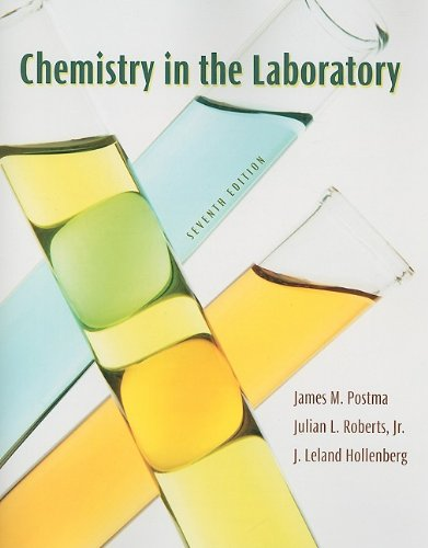 Chemistry in the Laboratory  7th 2011 (Revised) edition cover