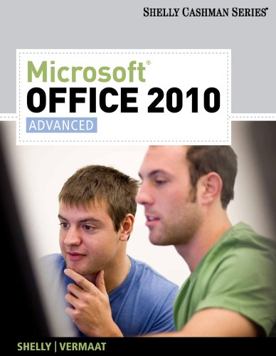 Microsoft� Office 2010 Advanced  2011 edition cover
