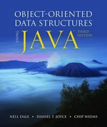 Object-Oriented Data Structures Using Java  3rd 2012 edition cover