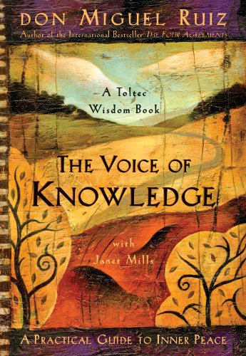 Voice of Knowledge A Practical Guide to Inner Peace  2005 9781878424549 Front Cover