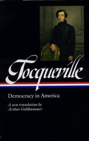 Tocqueville Democracy in America  2004 edition cover
