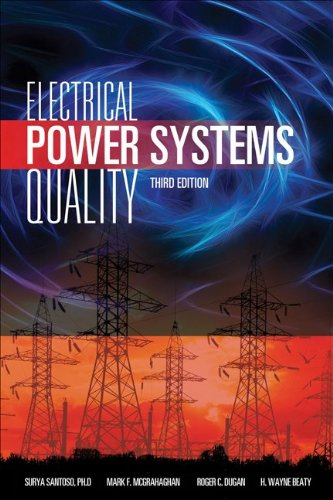 Electrical Power Systems Quality  3rd 2012 edition cover