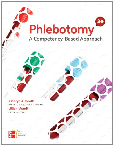 Phlebotomy A Competency-Based Approach 3rd 2013 edition cover
