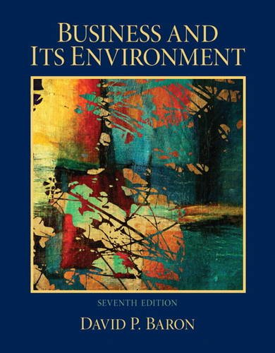 Business and Its Environment  7th 2013 (Revised) edition cover