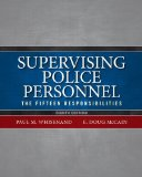 Supervising Police Personnel Strengths-Based Leadership 8th 2015 edition cover