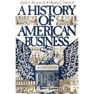 History of American Business  2nd 1990 edition cover