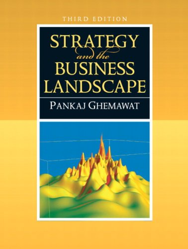 Strategy and the Business Landscape  3rd 2010 edition cover