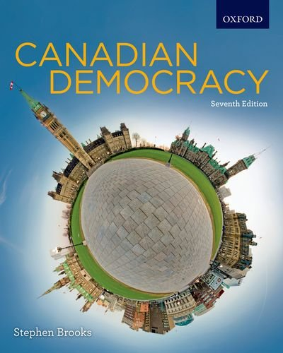 Canadian Democracy  7th 2011 edition cover