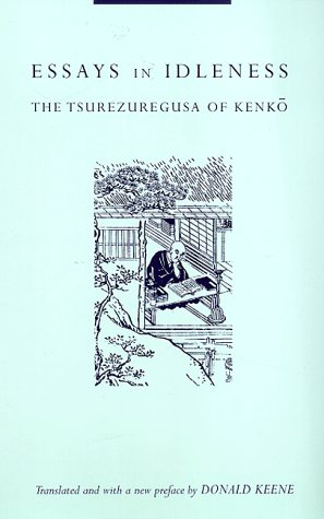 Essays in Idleness The Tsurezuregusa of Kenko 2nd 1998 edition cover