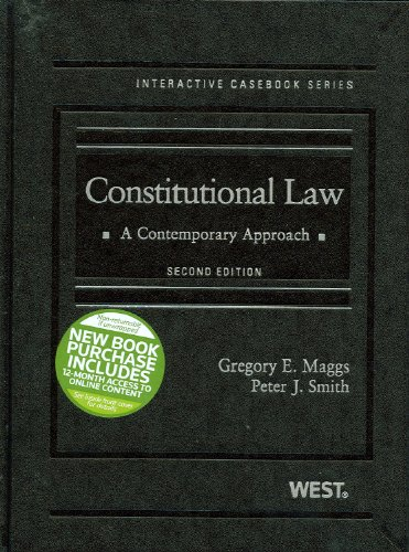Constitutional Law A Contemporary Approach 2nd (Revised) edition cover