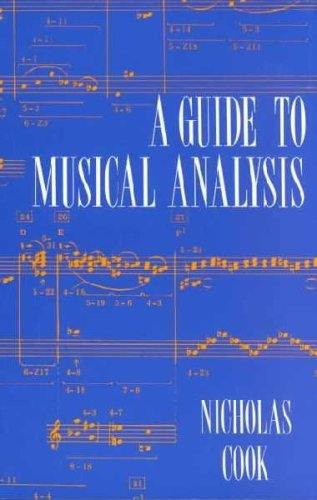 Guide to Music Analysis  N/A edition cover