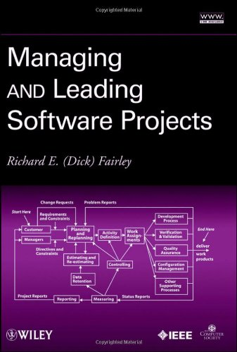 Managing and Leading Software Projects   2009 edition cover