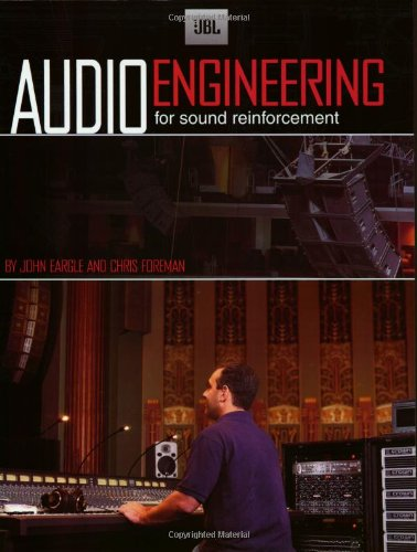 JBL Audio Engineering for Sound Reinforcement   2002 9780634043550 Front Cover