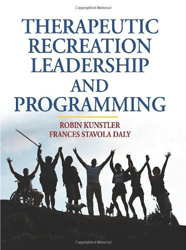Therapeutic Recreation Leadership and Programming   2010 edition cover