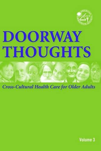 Doorway Thoughts Cross-Cultural Health Care for Older Adults  2006 edition cover