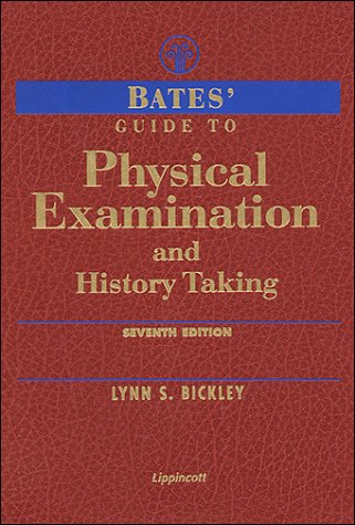 Physical Examination and History Taking  7th 1999 (Revised) edition cover