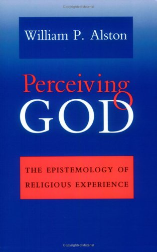 Perceiving God The Epistemology of Religious Experience  1993 edition cover
