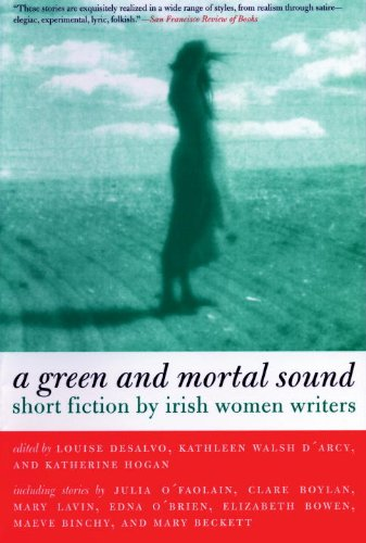 Green and Mortal Sound Short Fiction by Irish Women Writers  2001 edition cover