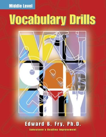 Vocabulary Drills   2000 9780809203550 Front Cover