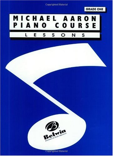 Michael Aaron Piano Course Lessons Grade 1  1994 edition cover