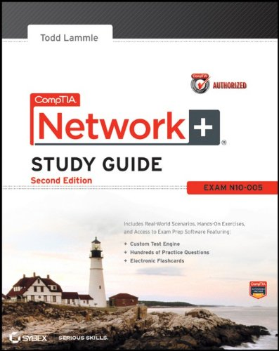 CompTIA Network+ Exam N10-005 2nd 2012 edition cover