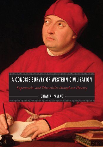 Concise Survey of Western Civilization Supremacies and Diversities Throughout History  2011 edition cover