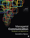 Managerial Communication Strategies and Applications 6th 2016 edition cover