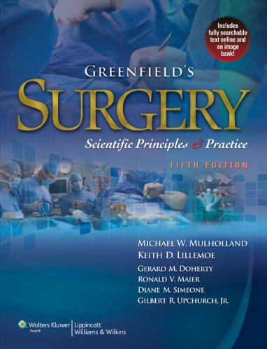 Greenfield's Surgery Scientific Principles and Practice 5th 2010 (Revised) edition cover